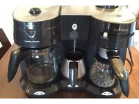 Morphy Richards Cafe Rico Combi Coffee Maker with Frother
