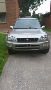 2000 Toyota Rav 4 All Wheel Drive 4 Doors