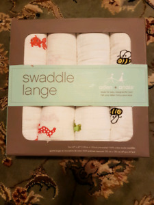 Brand new Aden + Anais swaddle blankets (4-pack)