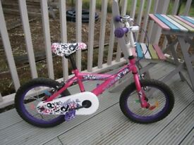 Girls push bike for sale in very good condition £25 ono