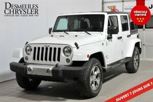 2016 Jeep WRANGLER UNLIMITED SAHARA**NAVIGATION**