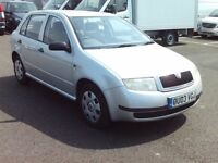 SKODA FABIA 1.4 5 DOOR SILVER LONG MOT