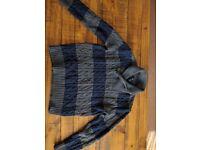 Gapkids Blue/grey stripe jumper 6/7 yrs excellent condition
