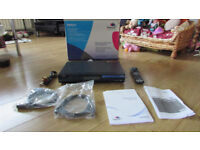 Humax Foxsat HDR 320gb boxed with accessories & Remote VGC USED