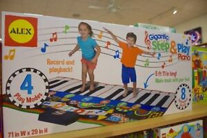 Step & Play Floor Piano Toy