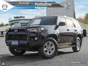2016 Toyota 4Runner SR5- 4x4- LEATHER INTERIOR + MUCH MORE!