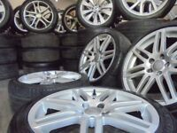 18inh GENUINE RS4 S LINE ALLOYS WHEELS EDITION 30 ronal audi vw golf a3 caddy seat r32 s3 a4 ch