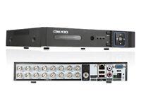 16 port analogue / ahd dvr cctv recorder - brand new