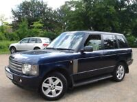 /// LAND ROVER RANGE ROVER 4.4 V8 VOGUE /// 52 PLATE NEWER SHAPE /// 4X4 JEEP /// LEATHERS SAT NAV /