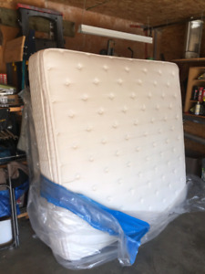King sized mattress