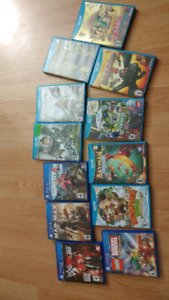 Ps4 and Wii u games. $100 for all
