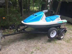 Seadoo GT with trailer