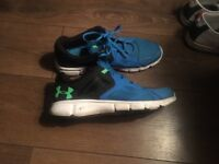 Under armour trainers size 11