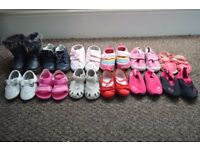 Baby Girls Shoes Bundle infant size 3-4 And 5