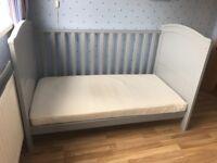 Grey Cot Bed
