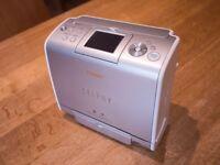 Canon Selphy ES1 - Photo printer - SD Card / USB plus cartidges, case