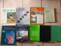 Science books from Marine Biology studies