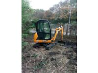 SUPERIOR MINI DIGGERS****MINI DIGGER AND DRIVER HIRE FROM £225.00 PER DAY **** ********