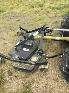 "60"" Pegasus finishing mower."