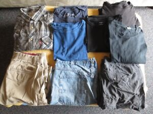 Men's Clothes Size L-XL & Tall men's pants 34x36 for sale Gently