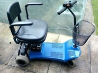 SHOPRIDER ALTEA 4 WHEELED MOBILITY SCOOTER FITS IN ANY CAR BOOT CARRIES 15 STONE 8 MILES