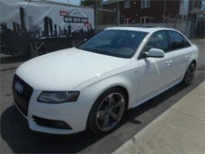 AUDI A4 Sline BLACK OPTIC PACKAGE 2011 (BLUETOOTH,TOIT OUVRANT)
