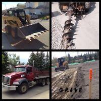Bobcat services~Dump truck~Landscape construction