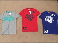 Superdry t-shirts £15 each