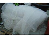 Ultra Fine Insect Netting/Mesh (Veggiemesh) - 410cm x 400cm - Garden Crop Veg Protection