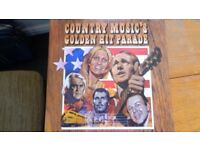"Boxed Set of LPs "" Country Music's Golden Hit Parade"