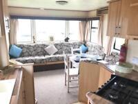 Static caravan for sale , 2 bedroom 6 berth , north east coast , crimdon dene , County Durham