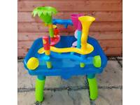 Water and Sand table with extra wheel and runs