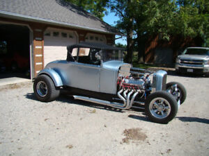1931 Model A Roadster convertible with rumble seat