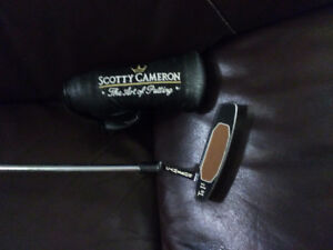 Scotty Cameron Te I3 putter Left Handed