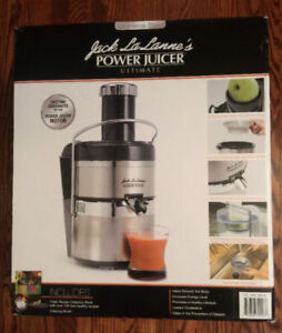 JACK LALANNE'S POWER JUICER –GOOD WORKING CONDITION