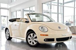 2008 Volkswagen New Beetle 2.5L Trendline / CUIR / Bas Mileage