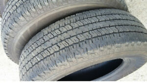 Full set Hankook half-ton tires