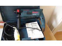 Bosch sds drill 110v with transformer box for extra