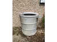 Mangle water tub drum.
