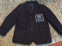 Girls navy school blazer