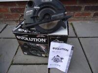 evolution stealth 185mm circular saw