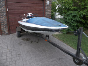 Vintage Speed Boat Project
