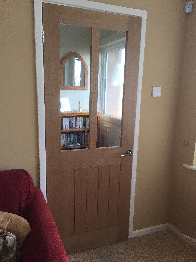Oak Veneer Glazed Internal Doors The Cupboard For Your Home