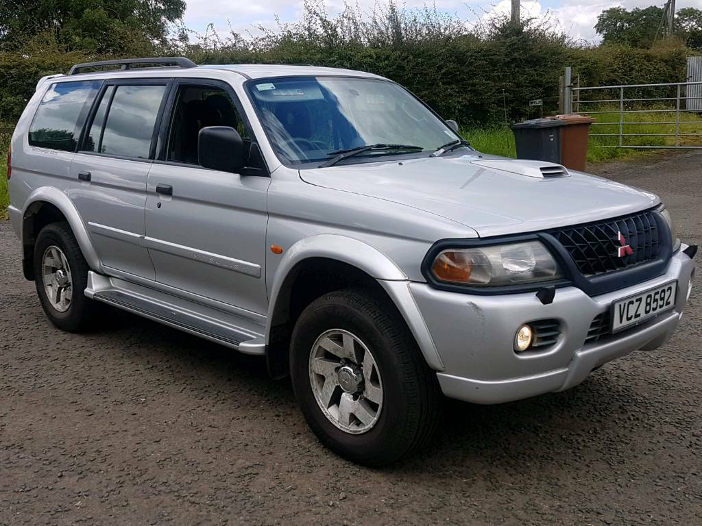 2003 mitsubishi shogun sport 2 5 td equipe 4wd 4x4 fmsh. Black Bedroom Furniture Sets. Home Design Ideas