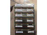 6 x computer server ram (hynix 4GB 2Rx4 PC3-8500R)