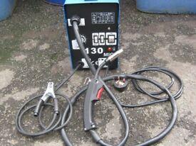 Gasless Mig Welder 130 Turbo