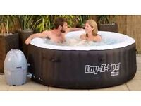 Hot tub and bouncy castle hire