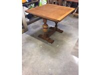 Extendable Solid Wood Antique French Farmhouse look Dining table - Beautifully finished