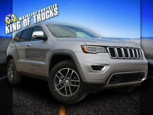 2017 Jeep Grand Cherokee Limited | Bluetooth | Heated Seats | Po