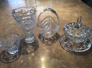 4 articles en cristal